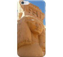 Ancient Egyptian Temple Pillar  iPhone Case/Skin