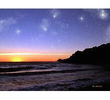 Star-Spangled Sunset Photographic Print