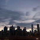 New York City skyline by night by Olivia Son