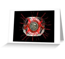It's Morphin Time - TYRANNOSAURS Greeting Card