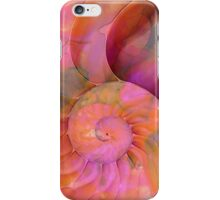 Colorful Nautilus Shell By Sharon Cummings iPhone Case/Skin