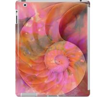 Colorful Nautilus Shell By Sharon Cummings iPad Case/Skin