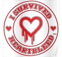 I Survived Heartbleed Poster