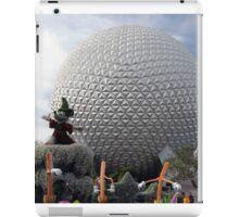 Sorcerer Mickey at Spaceship Earth iPad Case/Skin