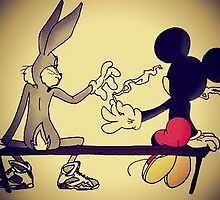 Micky&Bugs Weed  by Debsz
