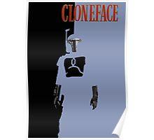 Fett is Cloneface Poster