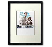 Steins;Gate Framed Print