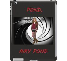 Pond, Amy Pond iPad Case/Skin