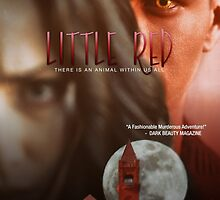 """Little Red"" Dark Beauty Movies Poster by DarkBeautyMag"