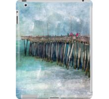 Nature's Intensity in Deep Blues iPad Case/Skin