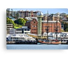 The Endeavour Sailing Ship - Newcastle NSW Australia Canvas Print
