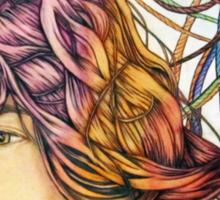 Roped in Dreams Sticker