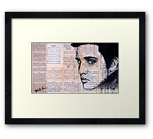 Elvis Presley Framed Print