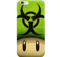Biohazard Mario's mushroom iPhone Case/Skin