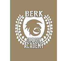 Berk Dragon Academy Tee Photographic Print
