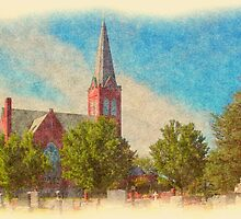Saint Paul Lutheran Church by Francis LaLonde