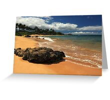 Mokapu Beach Maui Greeting Card