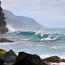 Na Pali Coast In Hawaii by Catherine Sherman