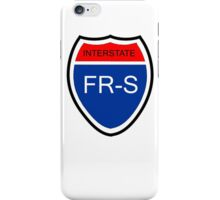 FR-S Interstate iPhone Case/Skin