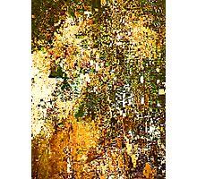 EXPLODING PUMPKIN (Painted Pixels) Photographic Print