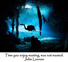 Time you enjoy wasting, was not wasted by Alison Perkins