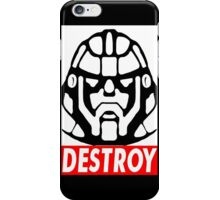 Destroy - Sentinel  iPhone Case/Skin