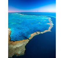 Blue Pacific Wonder Photographic Print