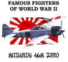 Famous Fighters - A6M Zero by Mil Merchant