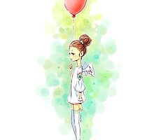 Balloon Girl by freeminds