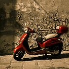 Red motorciclye by DavidCucalon