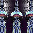 Tri-Tower Optical Illusion by barrowda