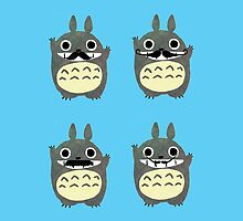 Totoro moustache by LTEP