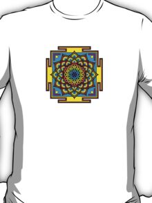 Flower of Life Psychedelic Mandala T-Shirt