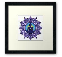 Om Meditation Framed Print