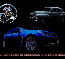 IT ISNT GOING TO BE A HOLDEN by JAMES LEVETT