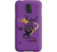 Leaf on the wind Samsung Galaxy Case/Skin