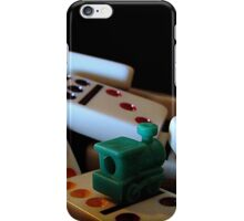 Mexican Train Dominoes iPhone Case/Skin