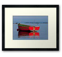 Little Fishing Boat Framed Print