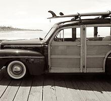 classic woodie by Karol Franks