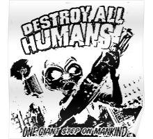 Destroy All Humans! Poster