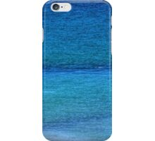 Looking into the Blue Sea iPhone Case/Skin