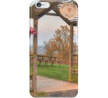 Hunters Valley Winery iPhone Case/Skin