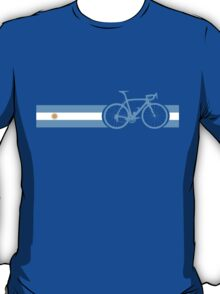 Bike Stripes Argentina T-Shirt