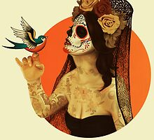 Calavera Princess by Lopesco