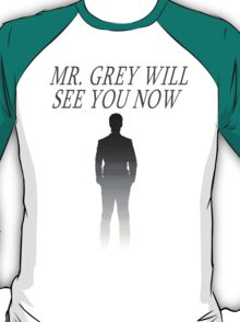 Mr. Grey Will See You Now (Fifty Shades of Grey) T-Shirt