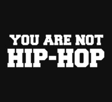 You Are Not Hip-Hop by zeephattony