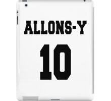Allons-y - The 10th Doctor iPad Case/Skin