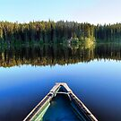 Canoeing on Lonely Lake by Skye Ryan-Evans