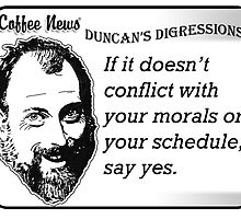 If it doesn't conflict with your morals or your schedule, say yes. by vancoffeenews