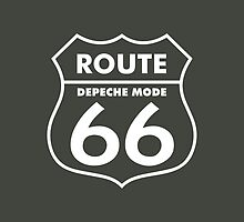 Depeche Mode : Route 66 - White - by Luc Lambert